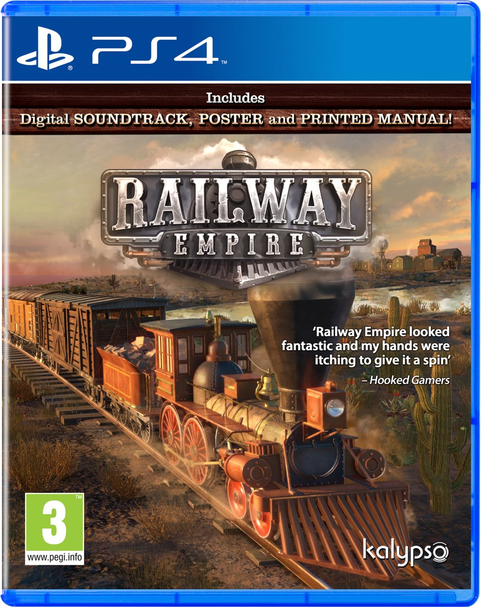 Railway Empire PlayStation 4