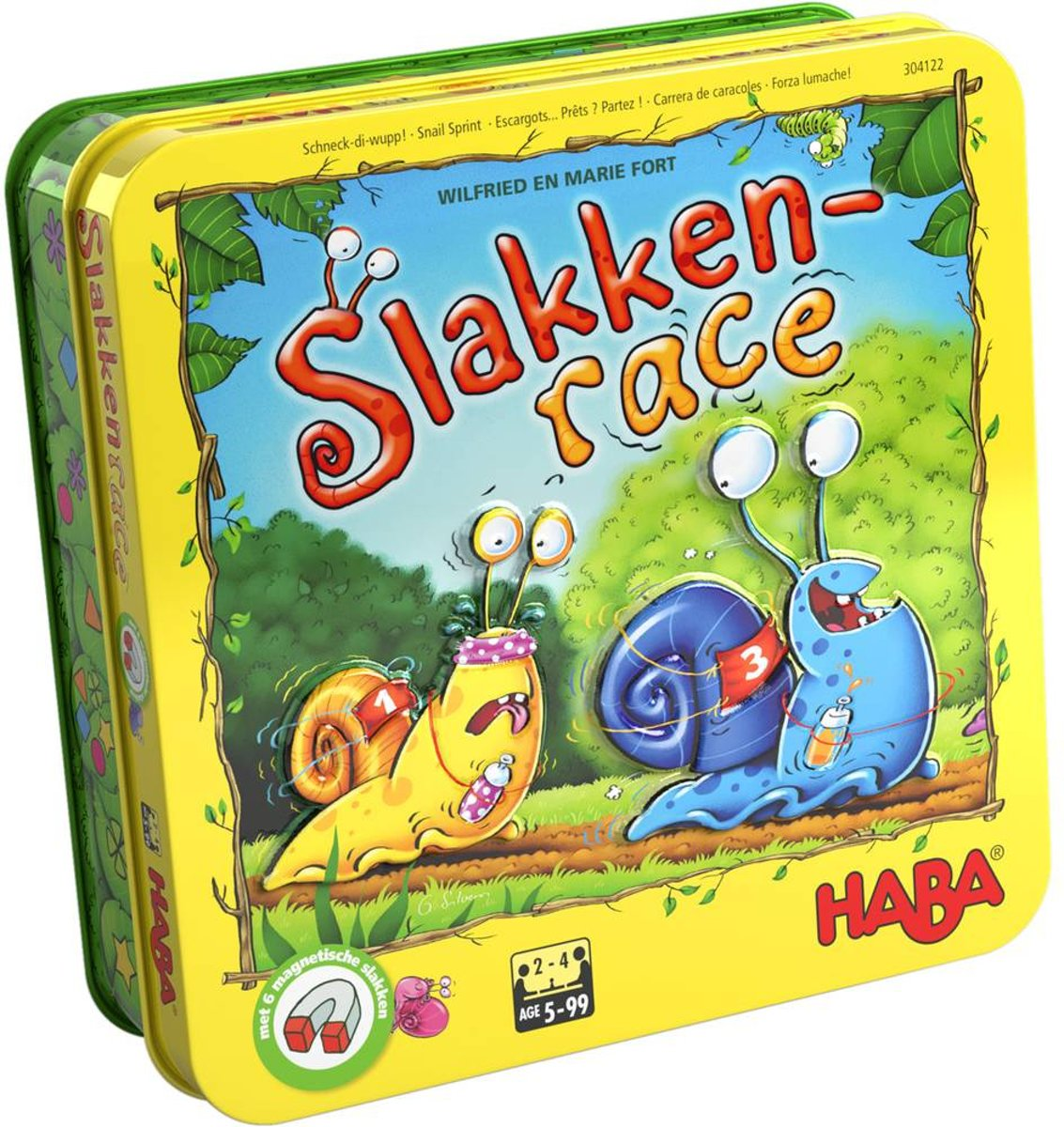 Haba - Spel - Slakkenrace - 5+