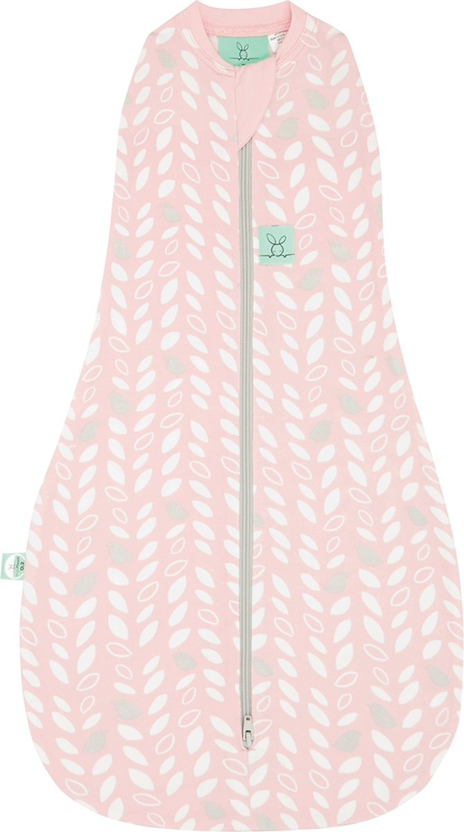 0.2 TOG - Zomer Ergococoon Swaddle + Sleep Spring leaves Maat: 3-12 mnd