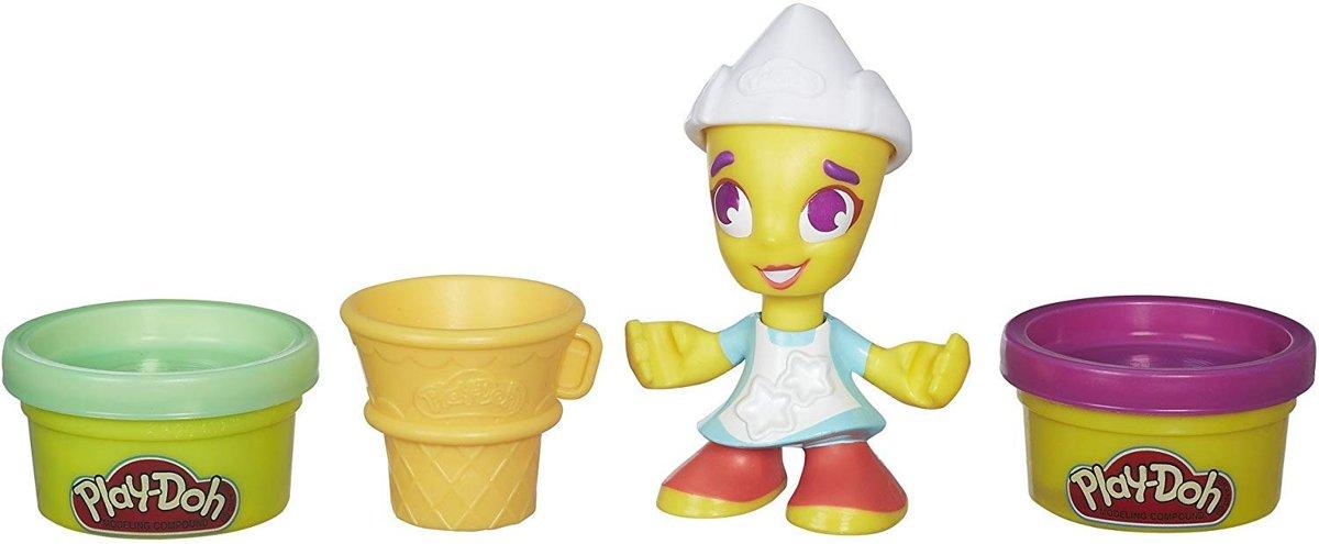 Play-Doh Town Figuren - Speelklei ijsverkoop