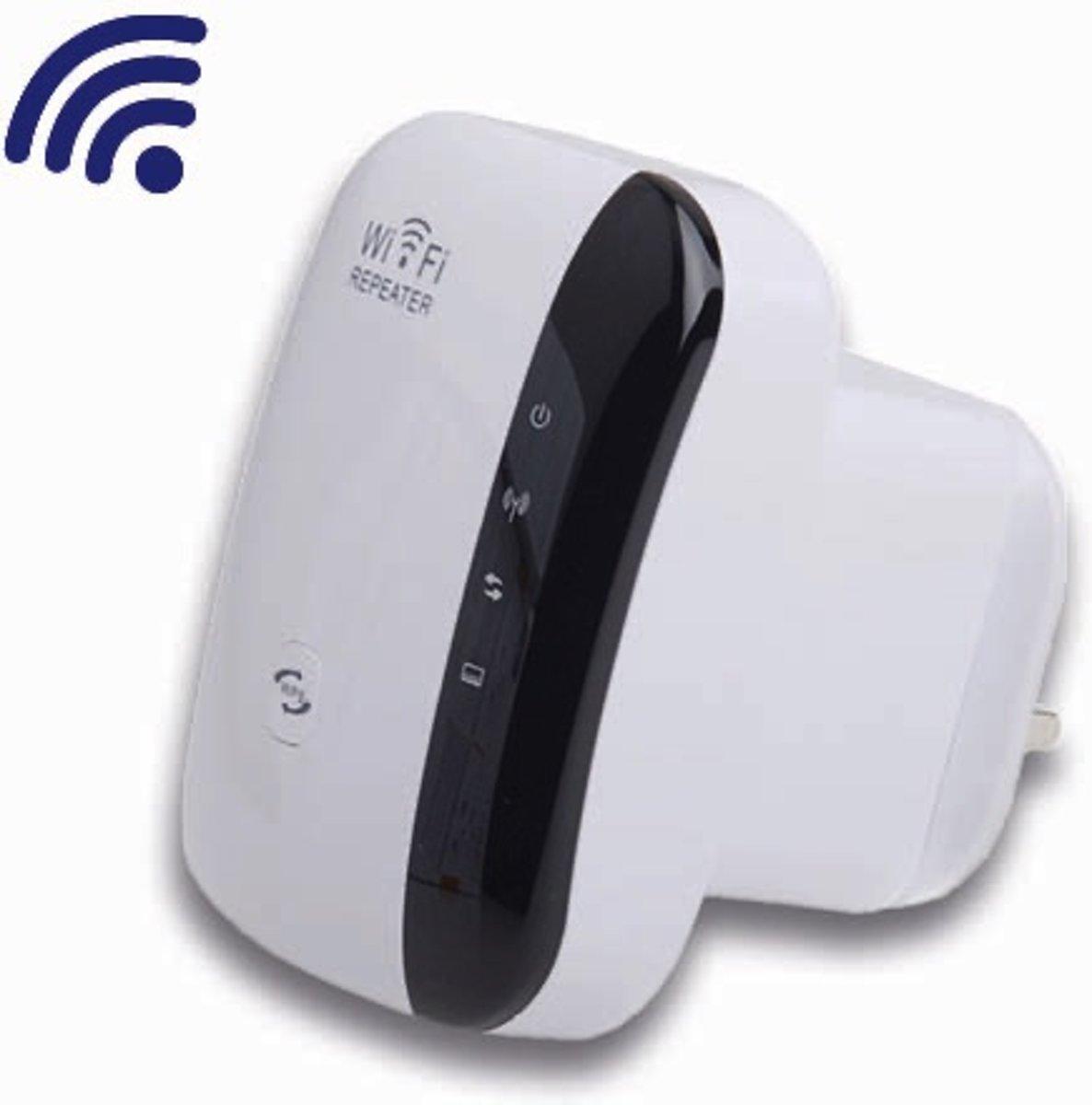 Krachtige WiFi Versterker + Gratis Internet kabel - WiFi Netwerk versterker - WiFi Repeater 300Mbps Wit - Stopcontact - Wireless kopen
