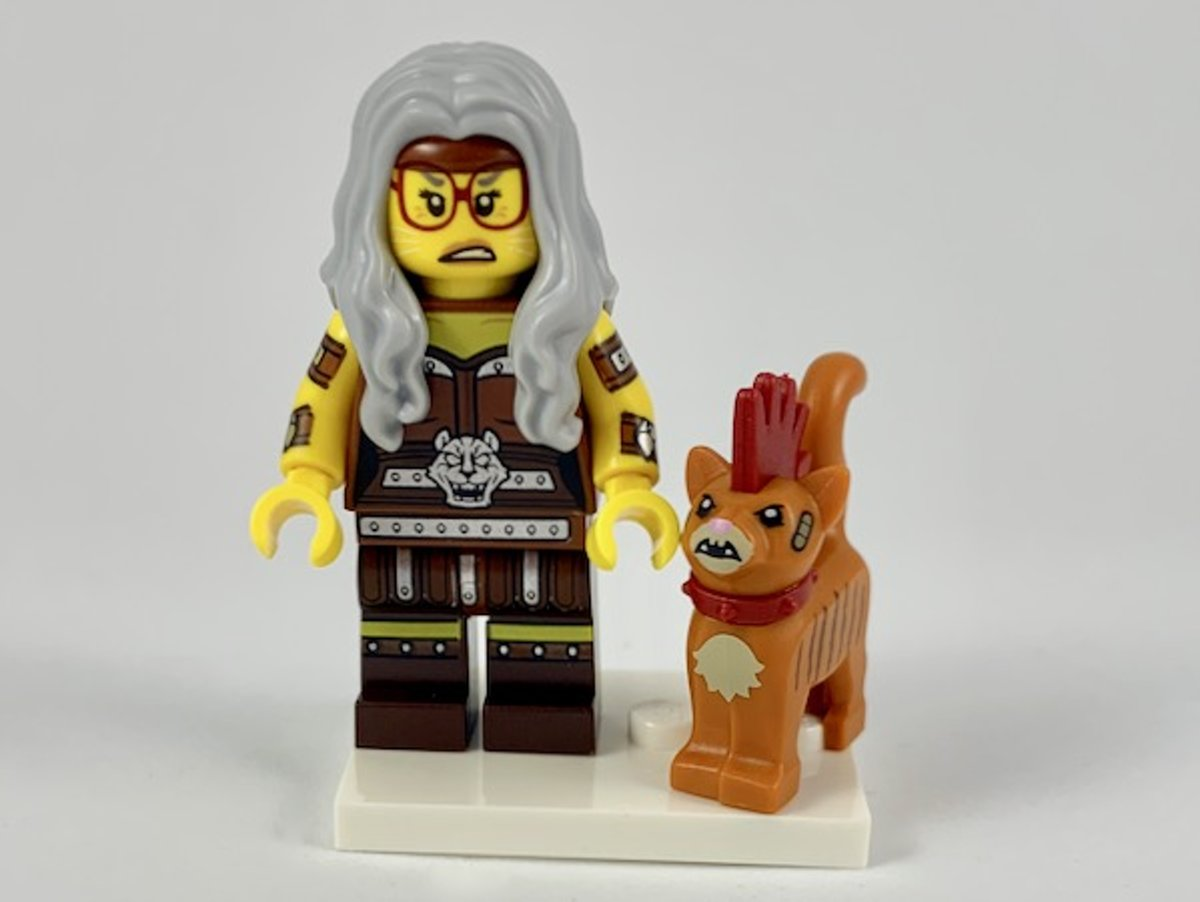 LEGO Minifiguur The LEGO Movie 2 Sherry Scratchen-Post & Scarfield coltlm2-6