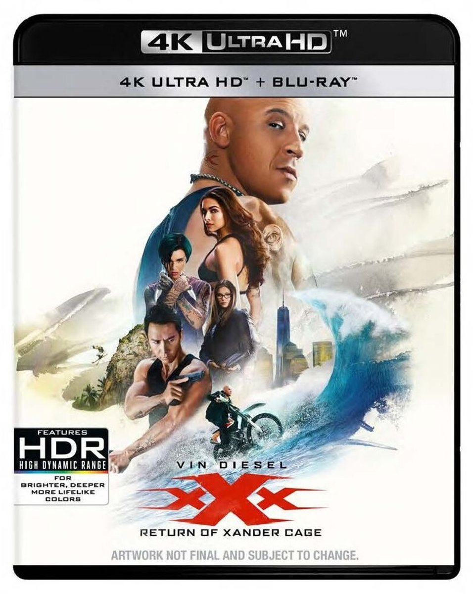 XXX: The Return Of Xander Cage (4K Ultra Blu-ray)-