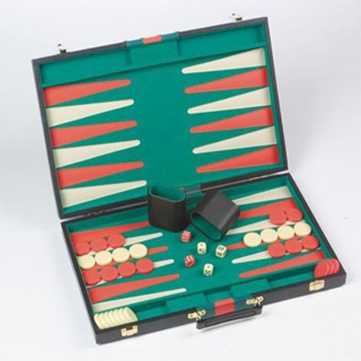Longfield Games Backgammon 11 Inch Piping