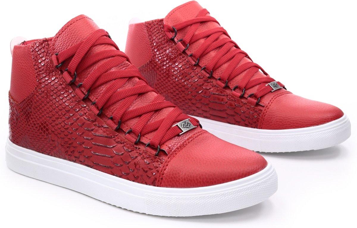 Heren schoenen van Manzotti met Slangenprint snake print
