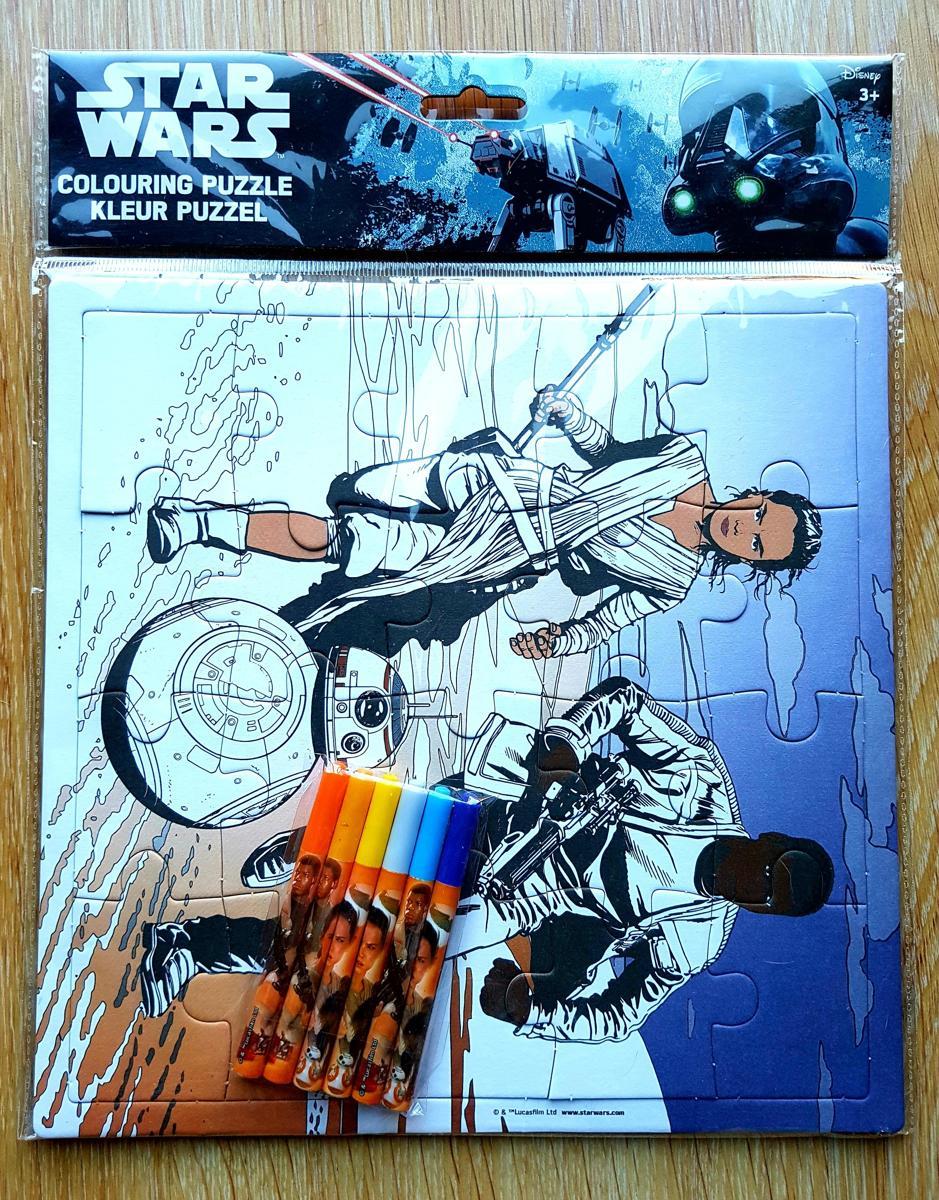 Star Wars Kleur puzzel