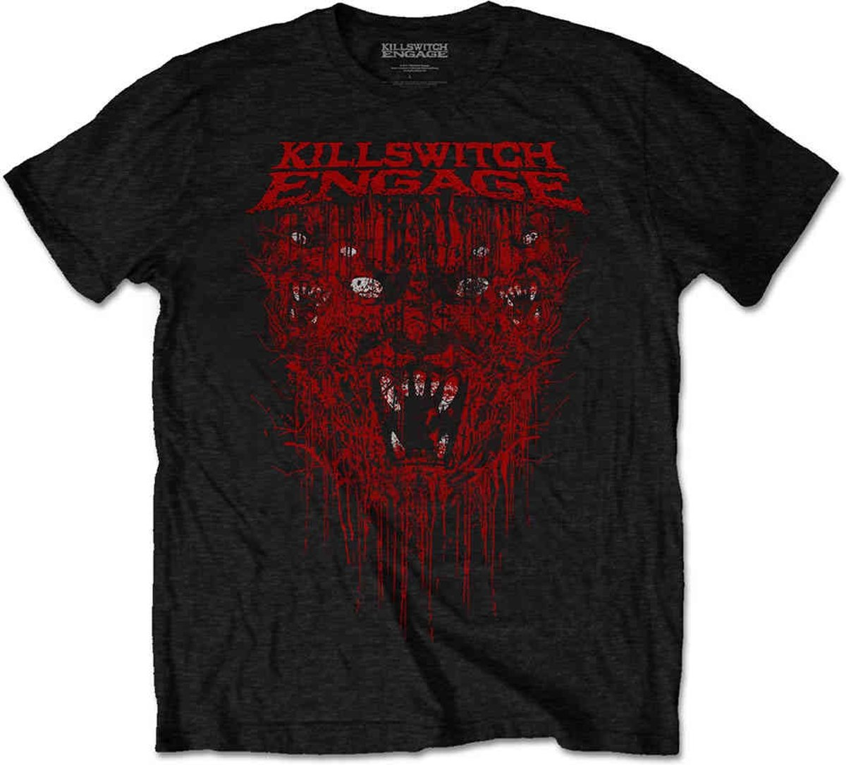 Killswitch Engage - Gore heren unisex T-shirt zwart - XL