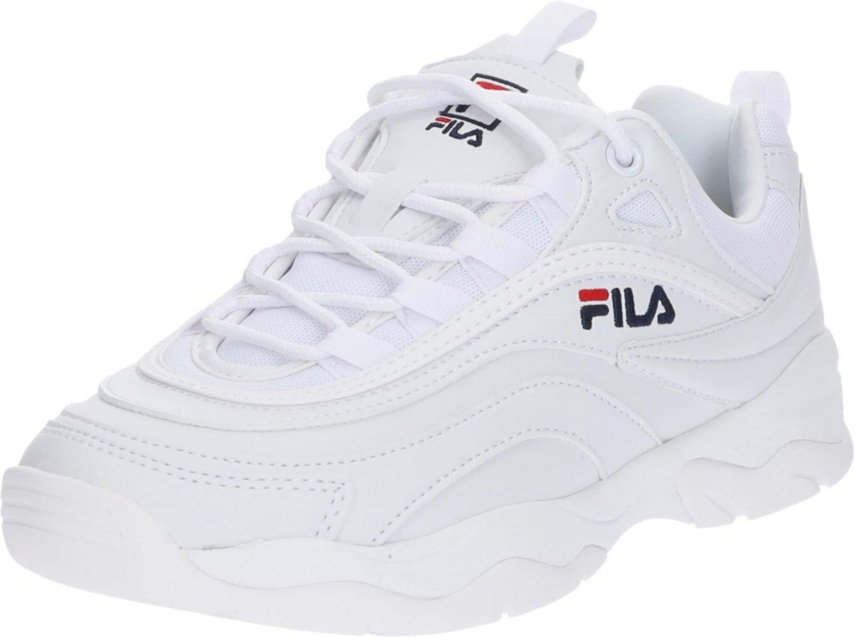 0f31e02176d Top Honderd | Fila Dames Sneakers Ray Low Wmn - Wit - Maat 42 - Fila