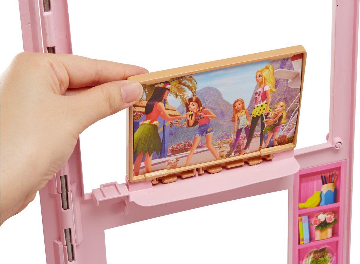 Barbie Slaapkamer Inrichten : Bol.com barbie twee verdiepingen huis barbiehuis mattel speelgoed