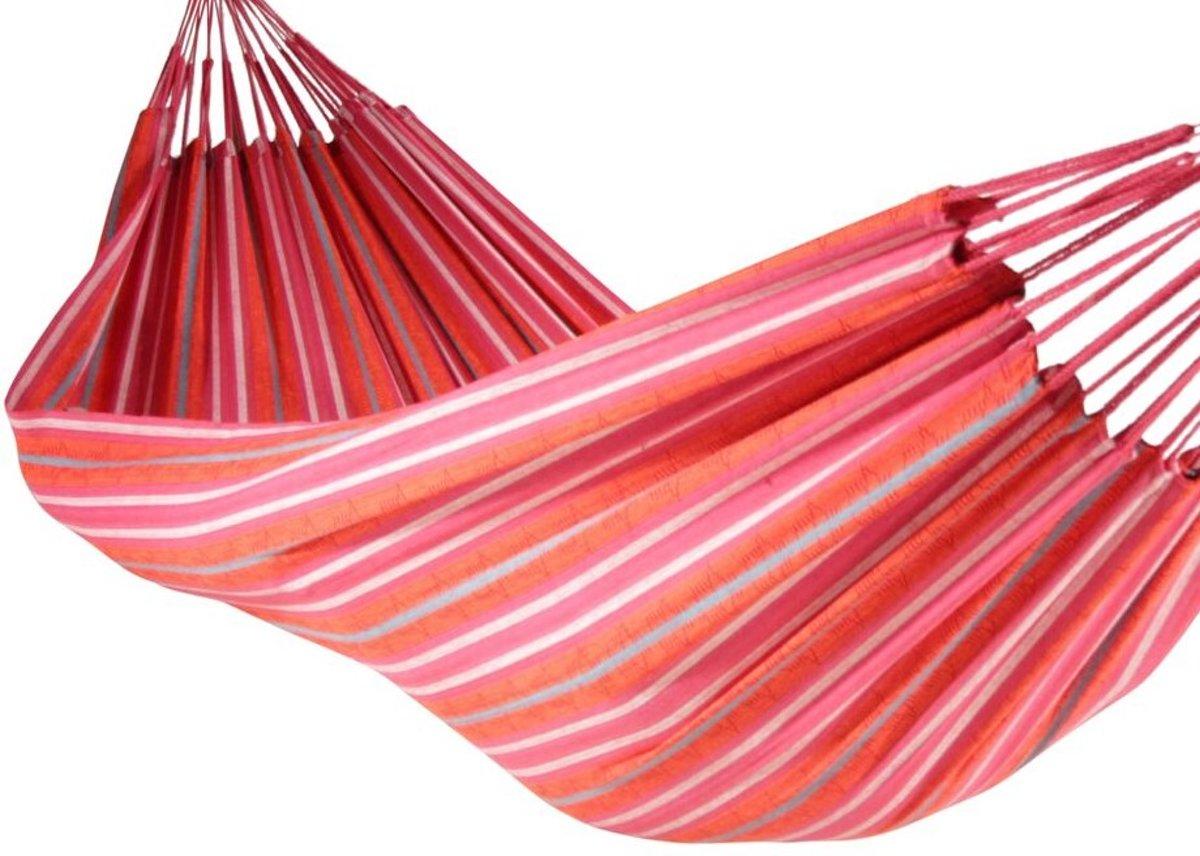 Yaguas hangmat Medium Roze