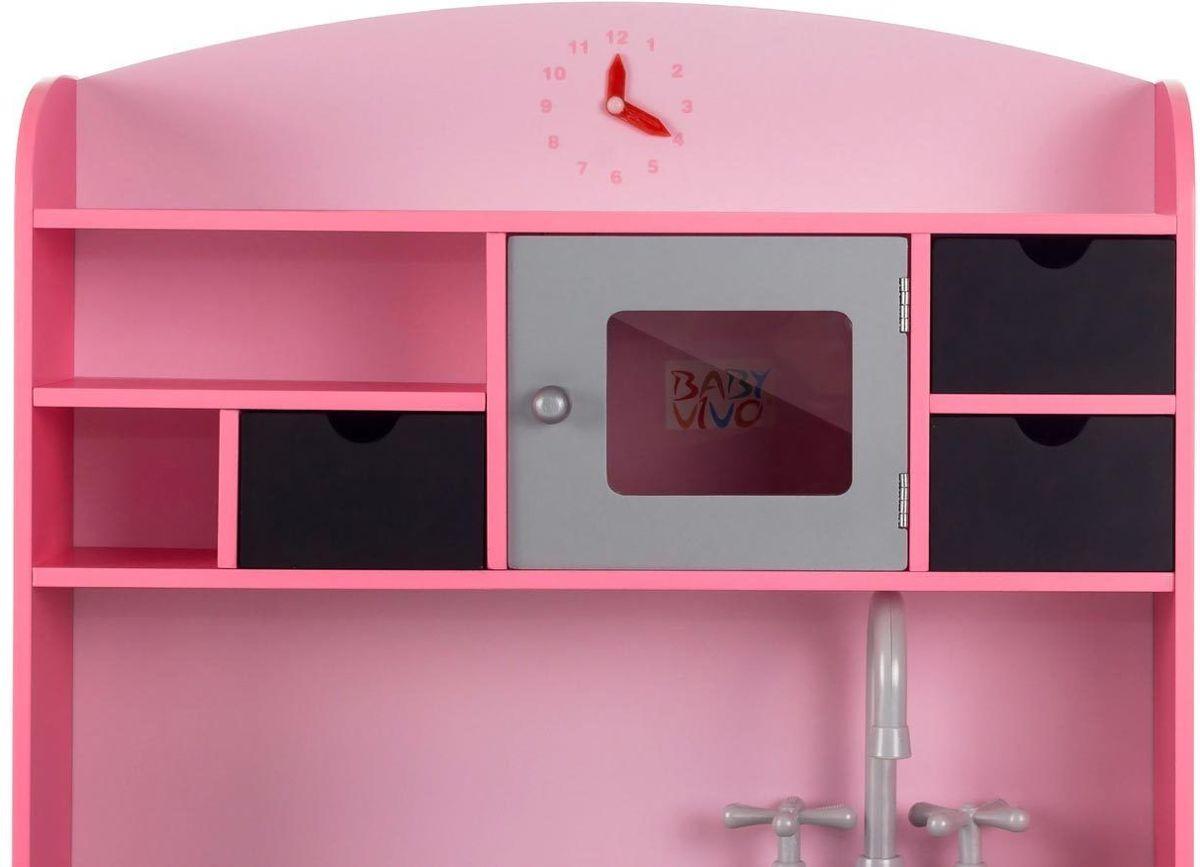 Houten Keuken Kind : Bol roze houten speelkeuken kinderkeuken met schoolbord
