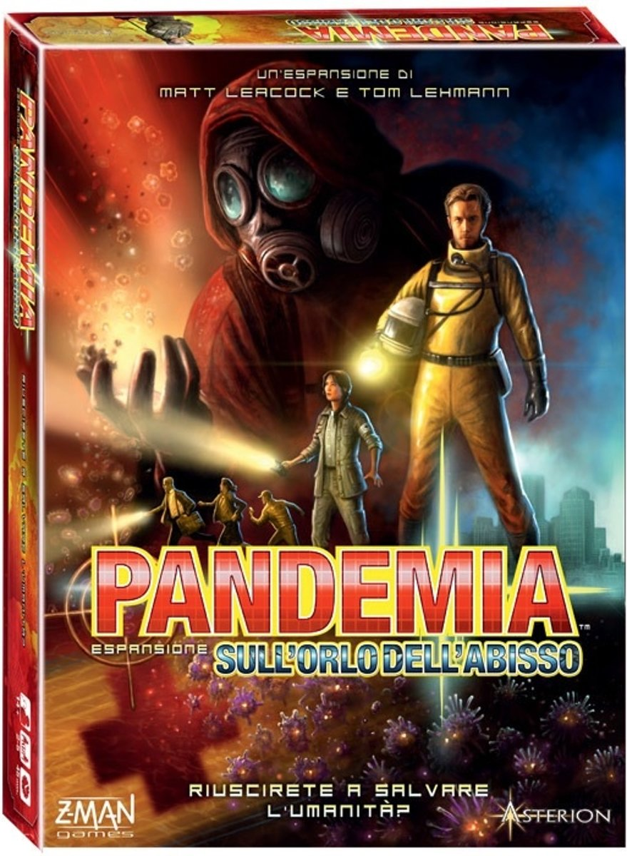 Pandemic - On The Brink 2nd edition - Engelstalig