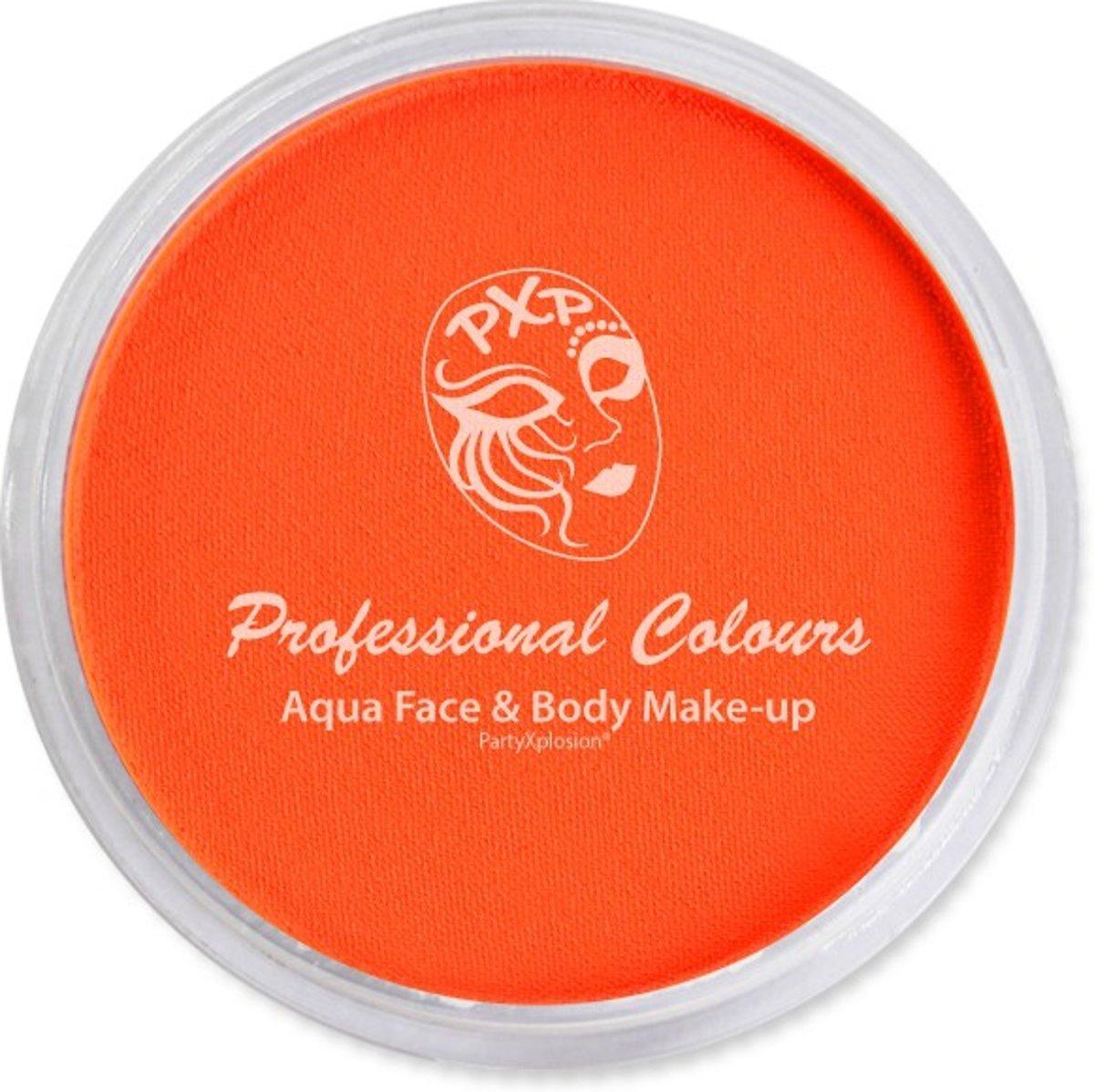 Aqua paint / waterverf PXP 10 gr Neon Oranje