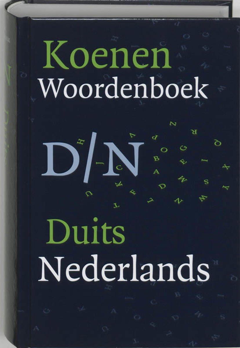 Koenen woordenboek Duits-Ne...
