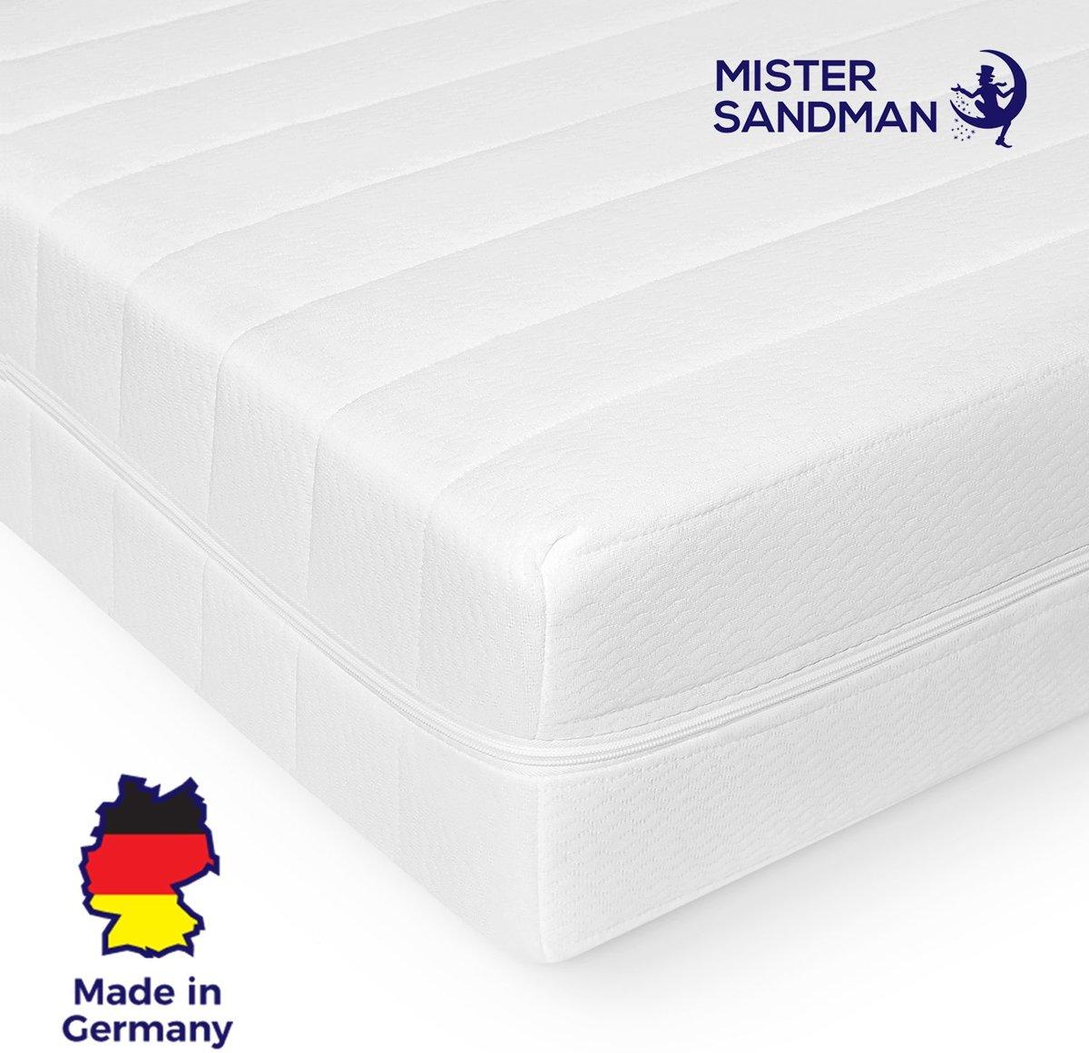 Matras - 80x200 - 7 zones - koudschuim - premium tijk - 15 cm hoog - medium & hard