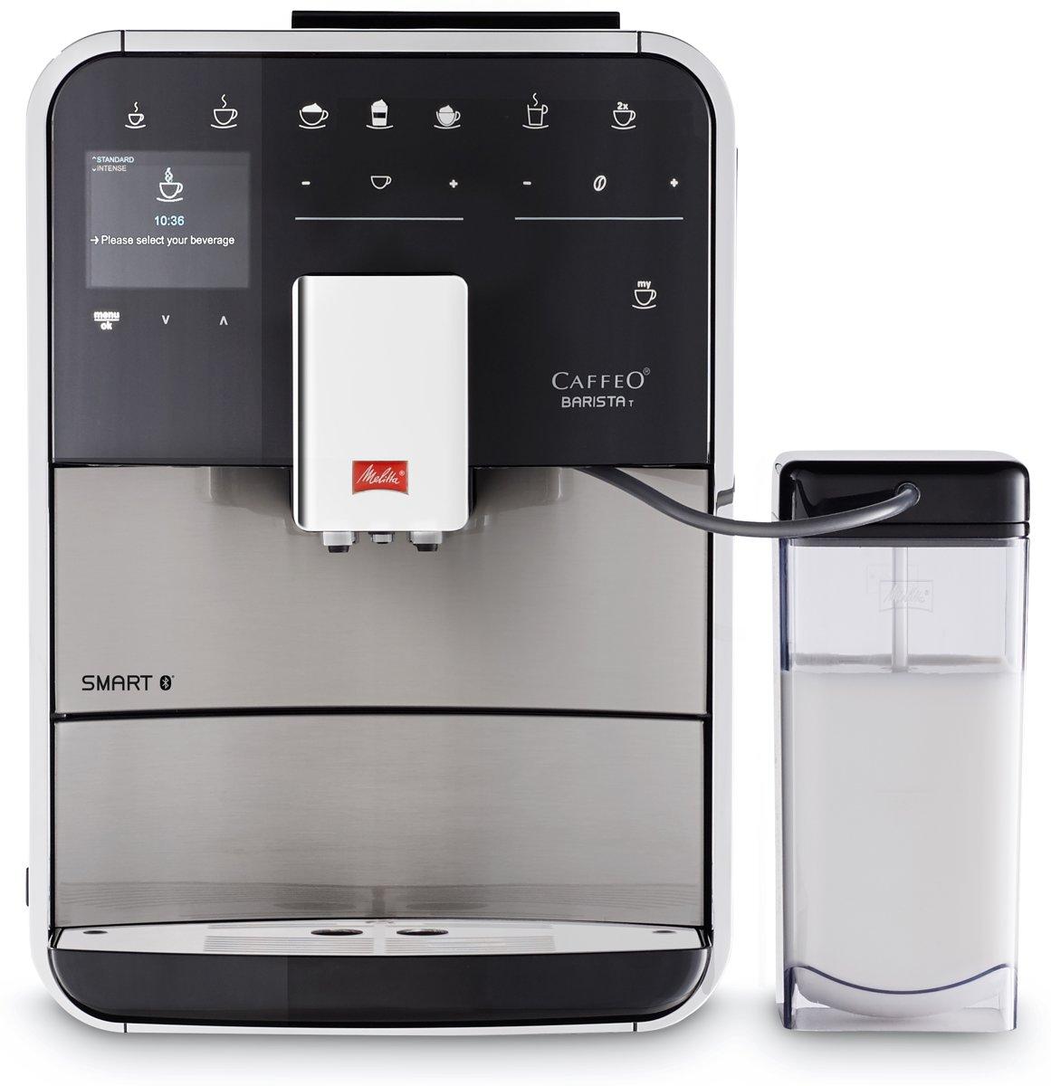 Melitta Barista Smart T SST F840-100 - Espressomachine - Zilver/zwart kopen