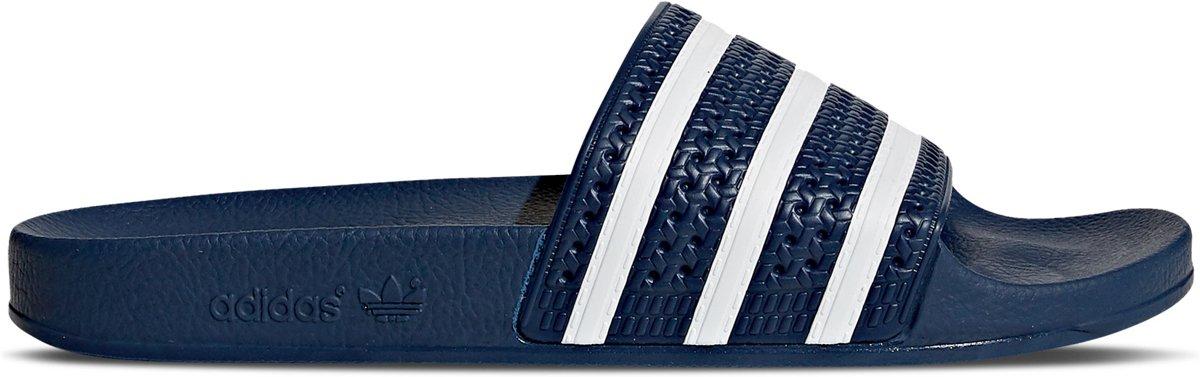 32f8011ef54 bol.com | adidas Adilette Slippers Volwassenen - Adi Blue / White / Adi  Blue - Maat 38