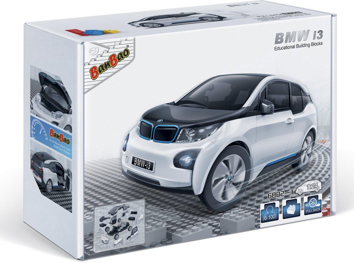 BanBao BMW i3 Wit - 6802-1