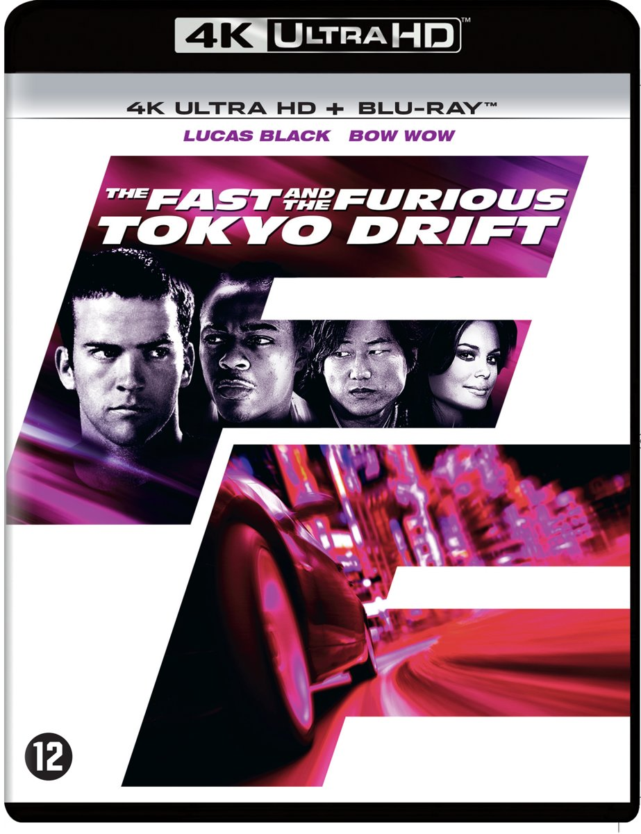 The Fast And The Furious 3: Tokyo Drift (4K Ultra Hd Blu-ray)-
