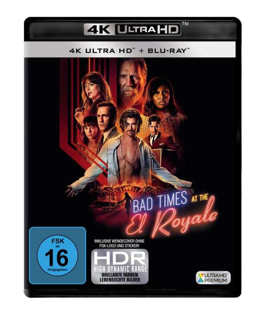 Bad Times at the El Royale (Ultra HD Blu-ray & Blu-ray)-