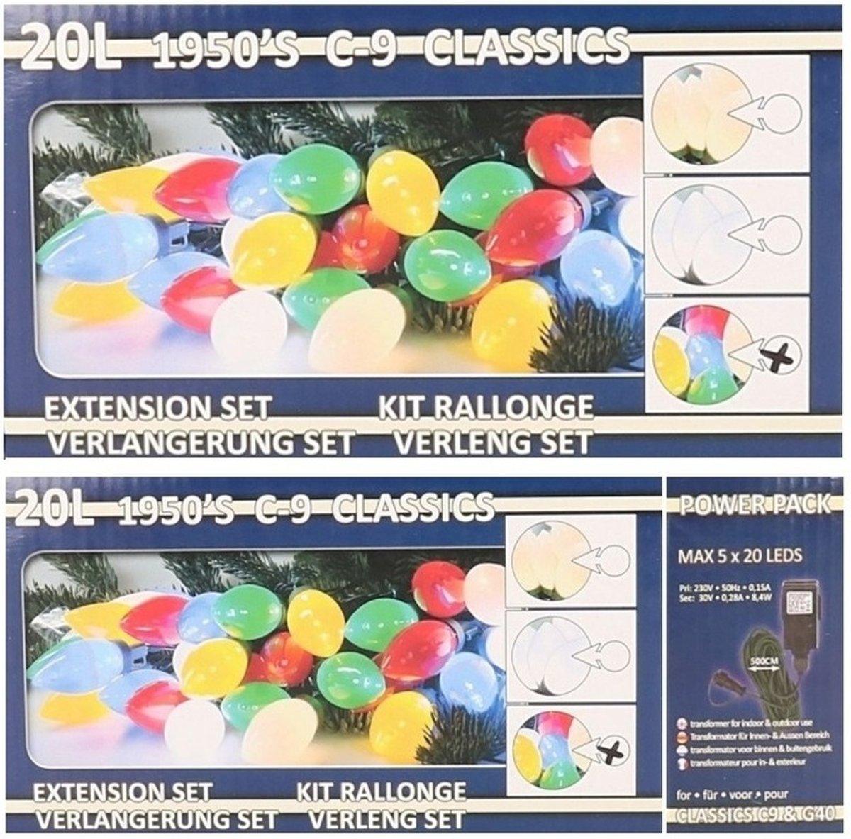 Kerstverlichting kaarsjes gekleurd buiten 900 cm lichtsnoer kopen