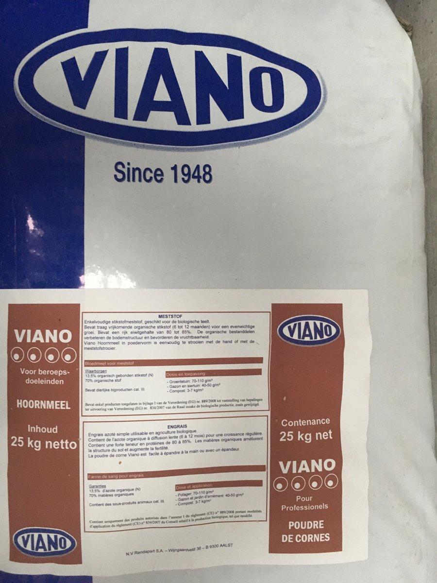 Hoefmeel en hoornmeel professioneel 25kg 13%N
