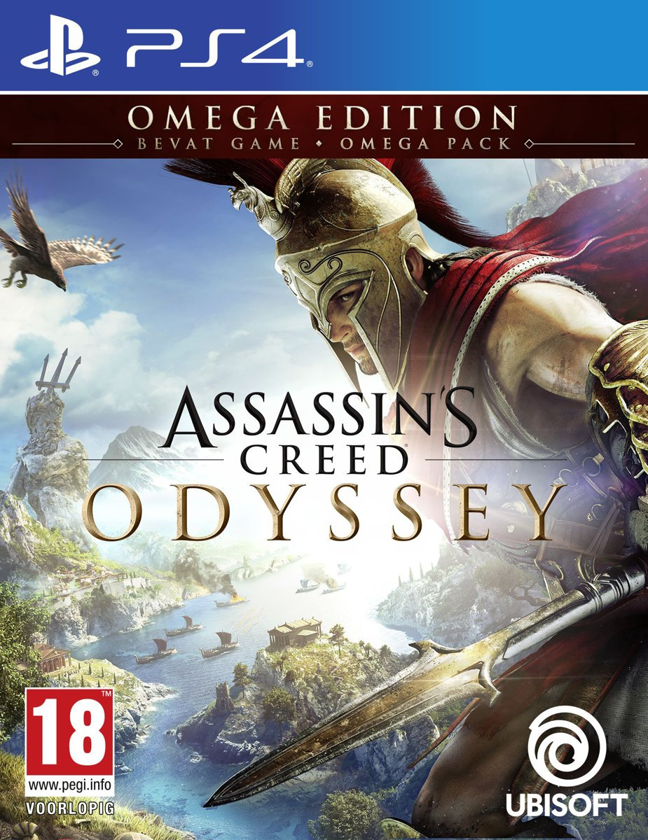 Assassin's Creed: Odyssey - Omega Edition PlayStation 4