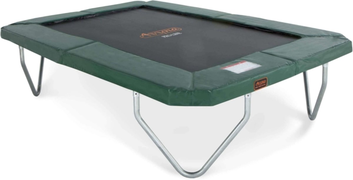 PRO-LINE trampoline 380 x 255 Groen-Gratis Afdekhoes