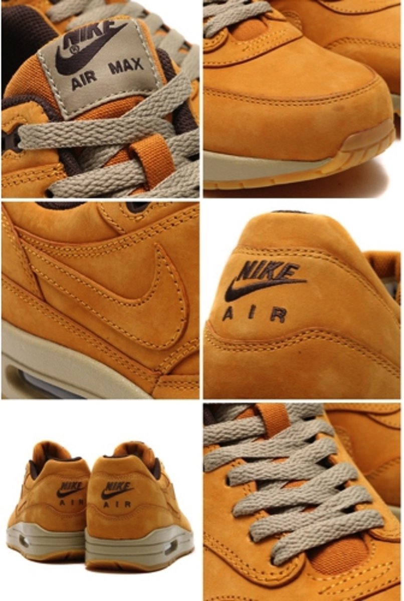 | Nike Air Max 1 Leather Premium Wheat Pack