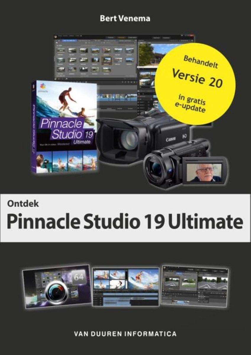 bol com | Ontdek! - Pinnacle Studio 19 & 20 | 9789059409521 | Bert