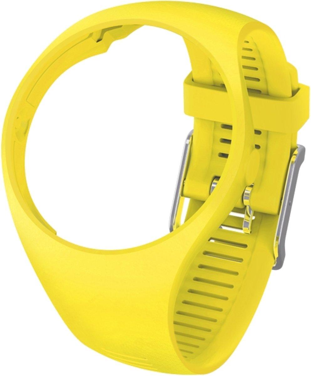 Polar M200 Horlogebandje - Sporthorloge - Geel - Maat S/M kopen