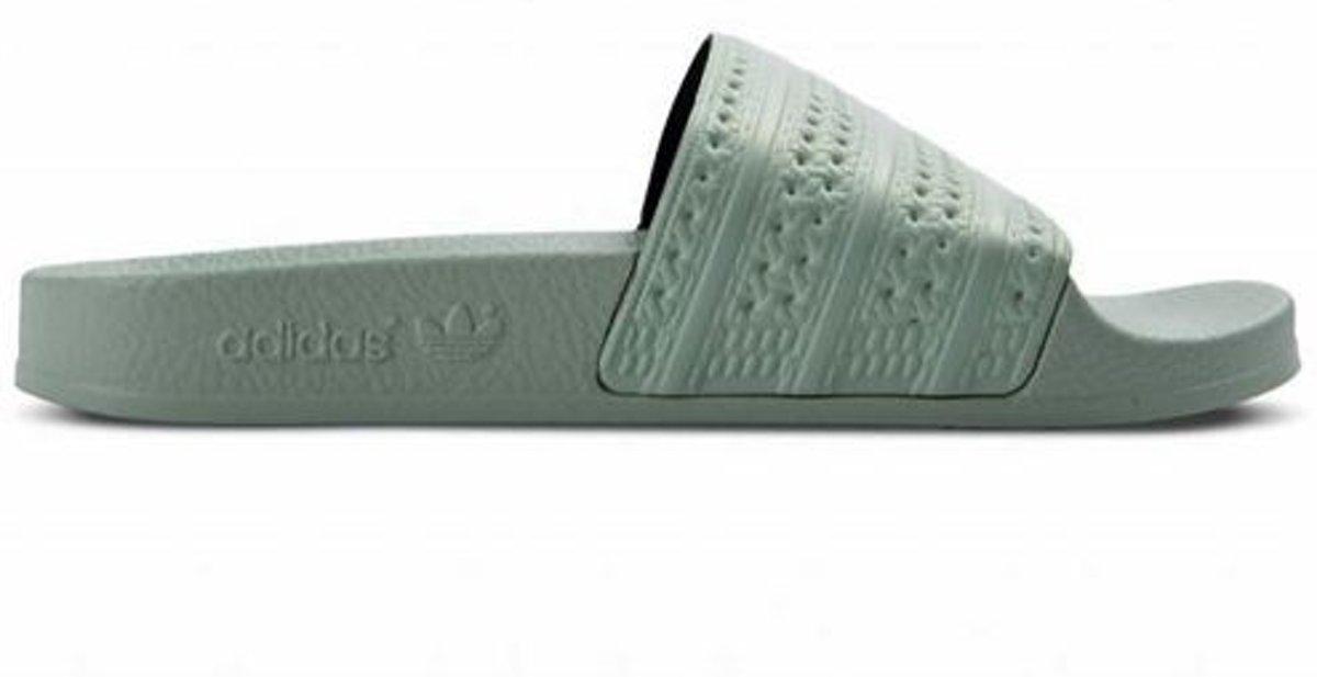 | Adidas Adilette Linen Green