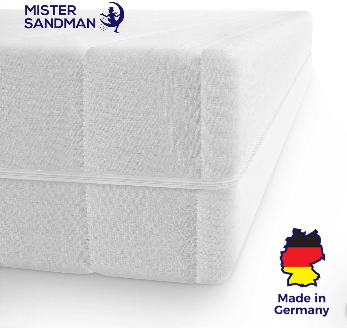 Matras - 140x200 - 7 zones - koudschuim - premium tijk - 15 cm hoog - twijfelaar bed