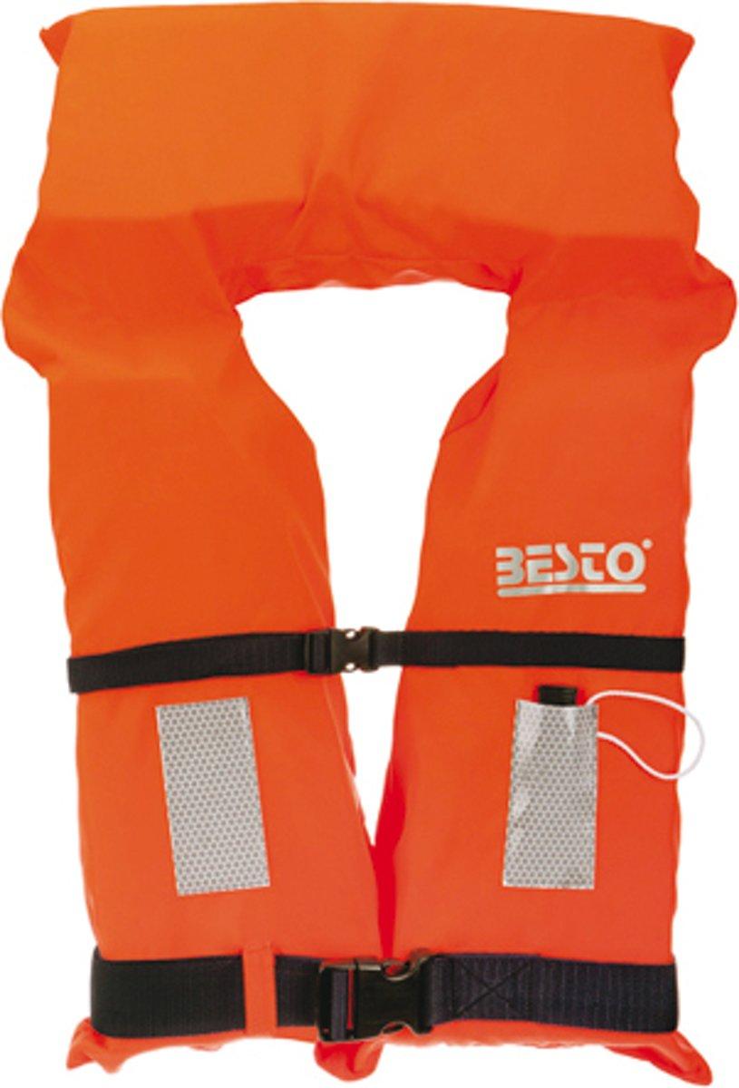 BESTO MOTORBOOTVEST MB reddingsvest 50N zwemvest voor junior 30-40 kg