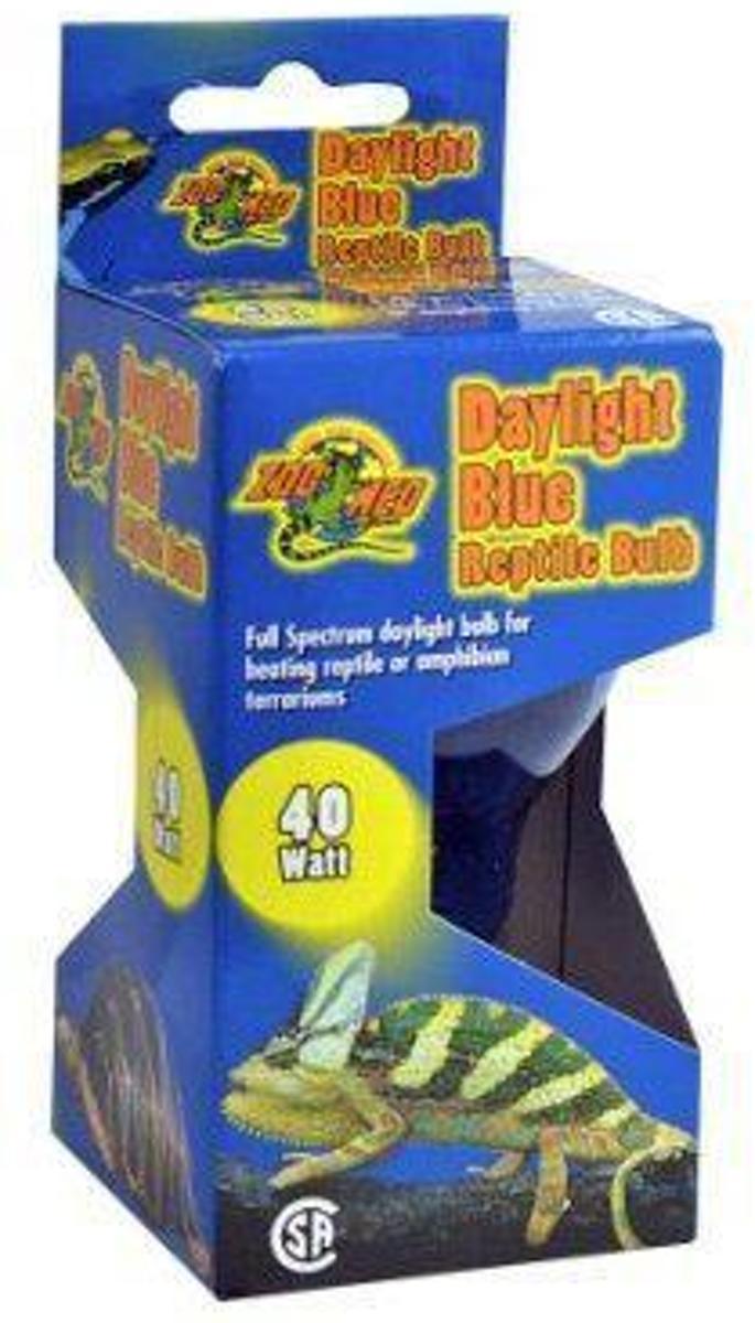 ZM Daylight Blue Reptile Bulb 40 w.