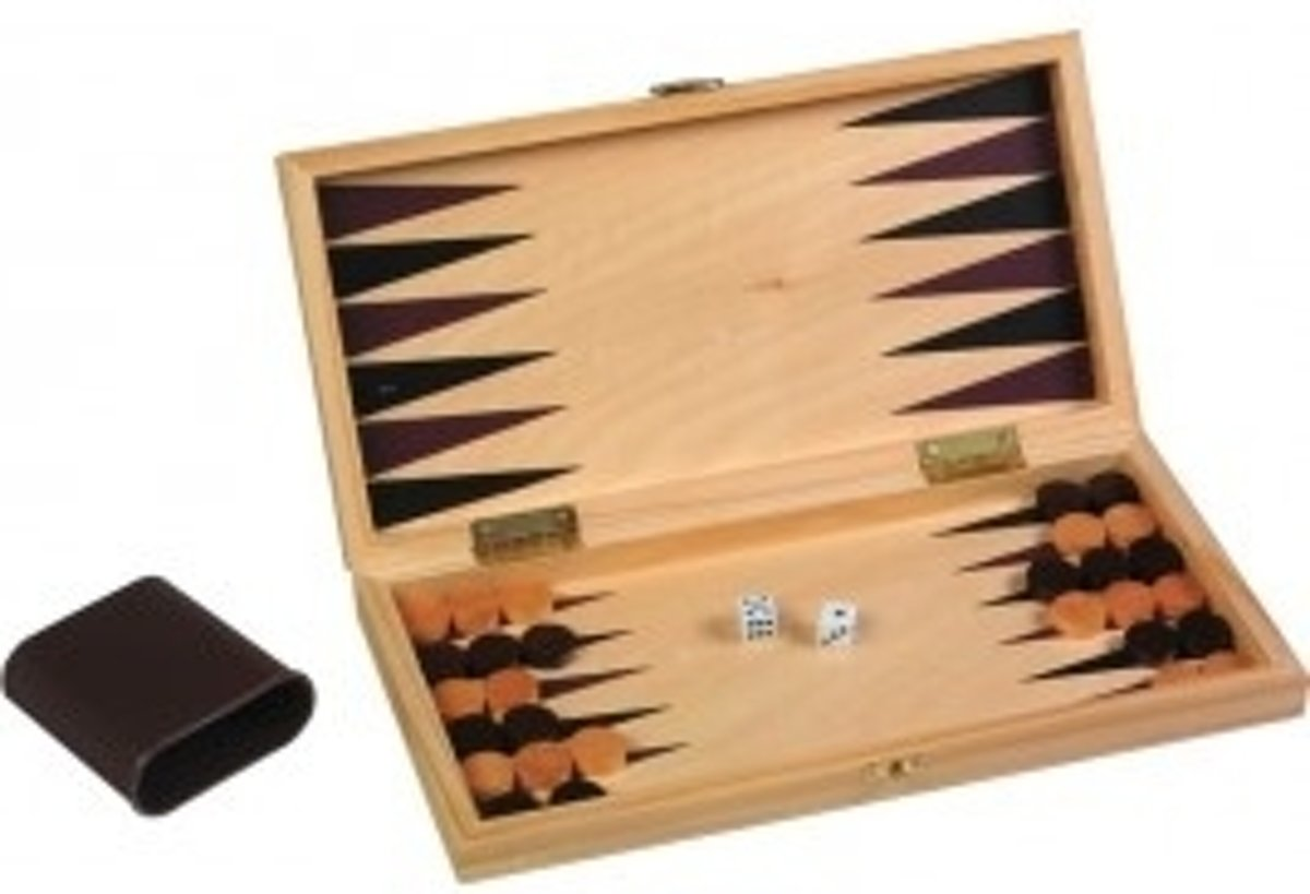Schaak / Backgammon Set