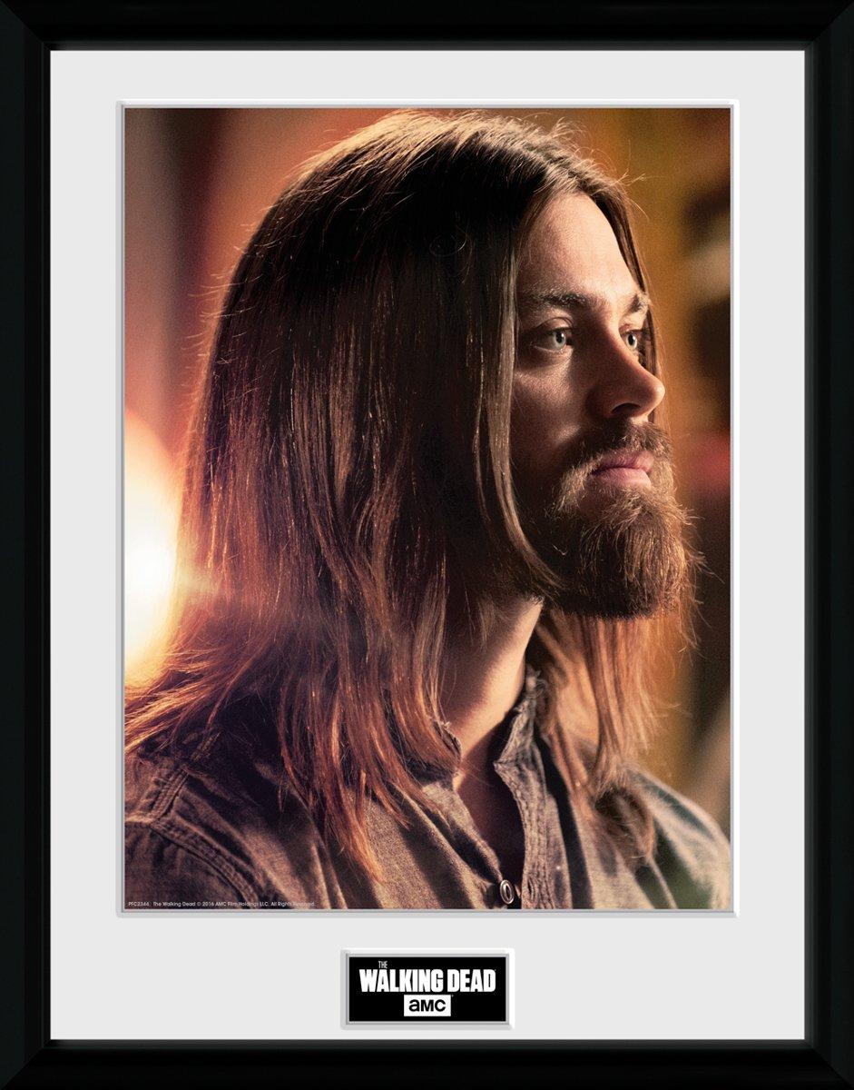THE WALKING DEAD - Framed Collector Print met kader 30X40 - Jesus kopen