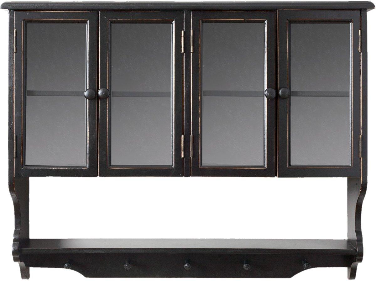 Keuken Wandkast 5 : Bol.com clayre & eef wandkast voor keuken 82x17x67 cm