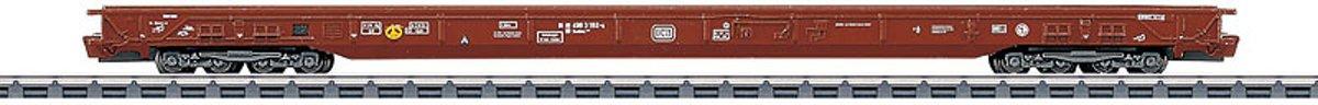 Märklin - Lagevloerwagen voor vrachtwagentransport DB
