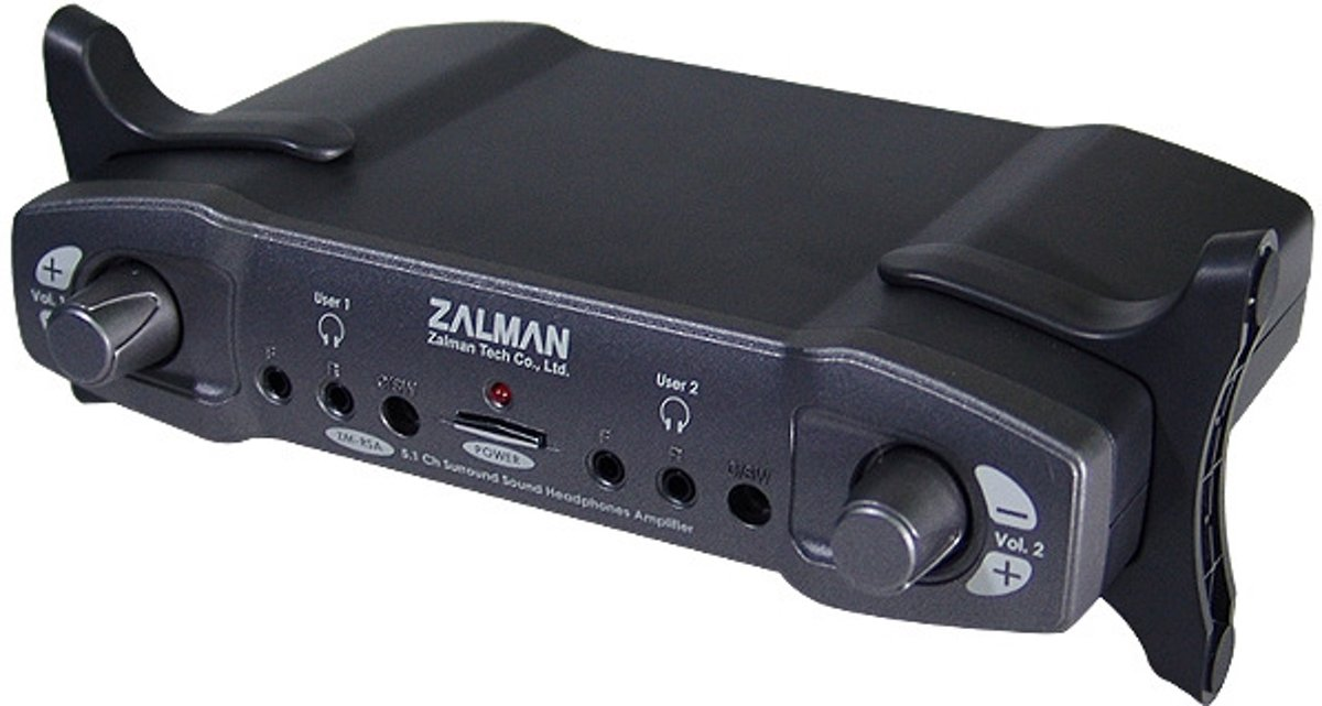 Zalman 5.1 channel headphone Amplifier kopen