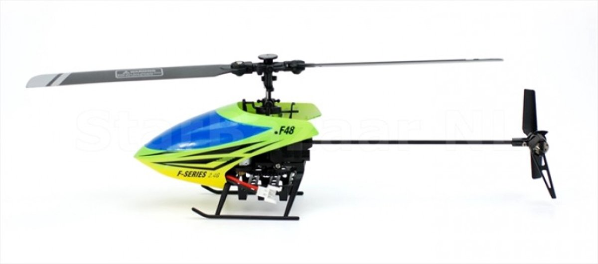 MJX F48 Flybarless System RC Helikopter 4CH 2.4 Ghz Digital Pro