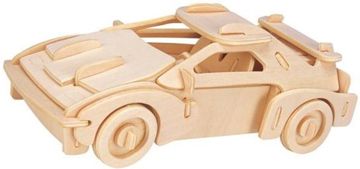 Eureka 3D Puzzel Gepetto's Race wagen - Multiplex