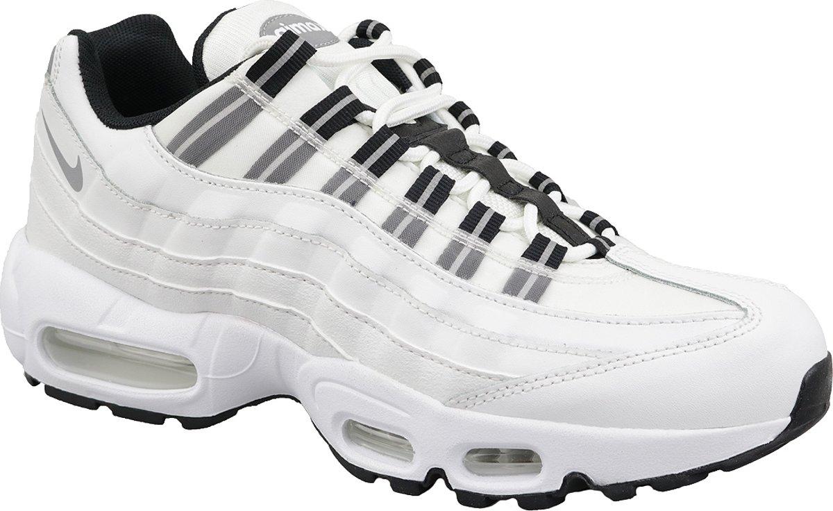 Nike Wmns Air Max 95 307960 113, Vrouwen, Wit, Sneakers maat: 40 EU