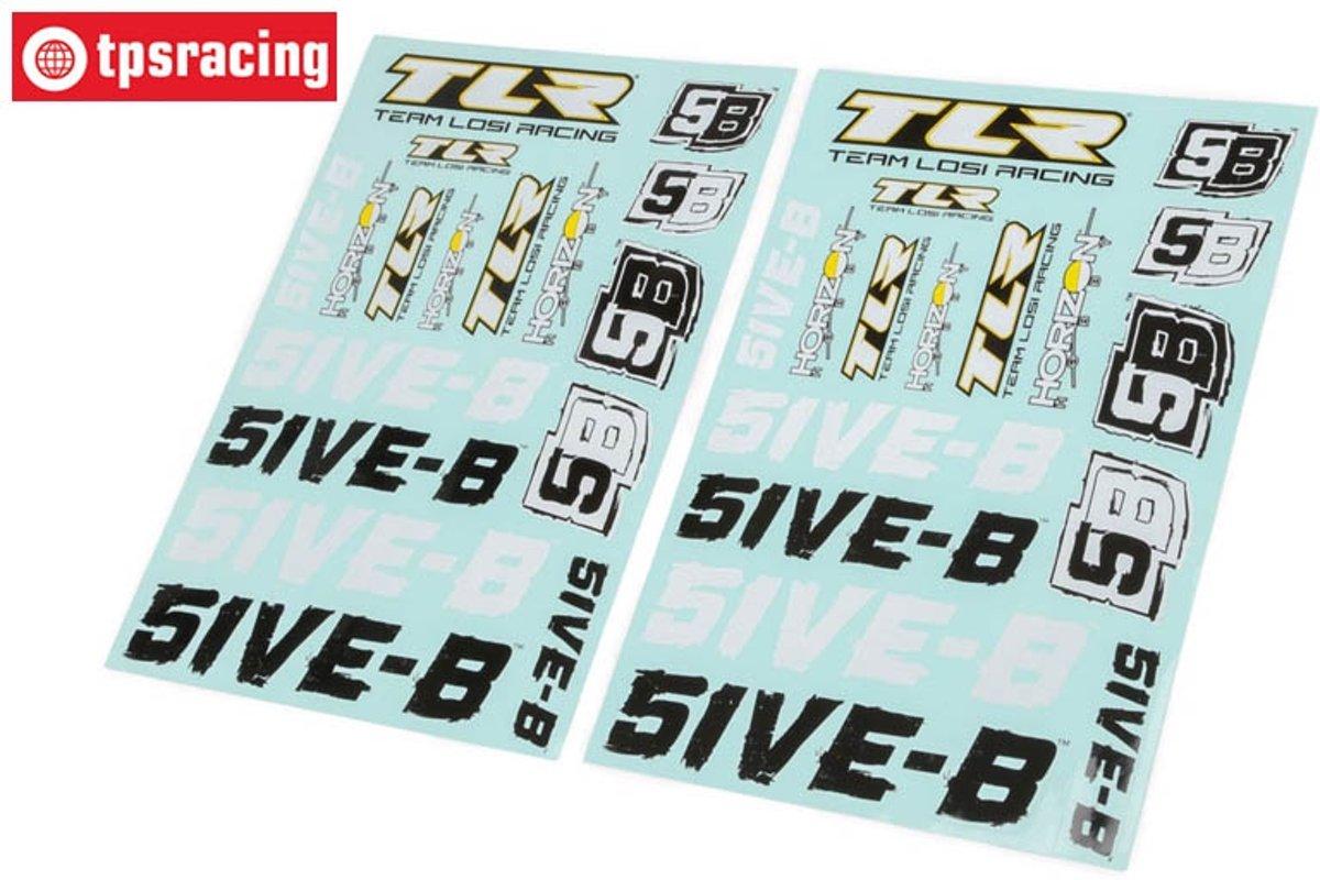 TLR259000, Stickers, TLR 5IVE-B, Set