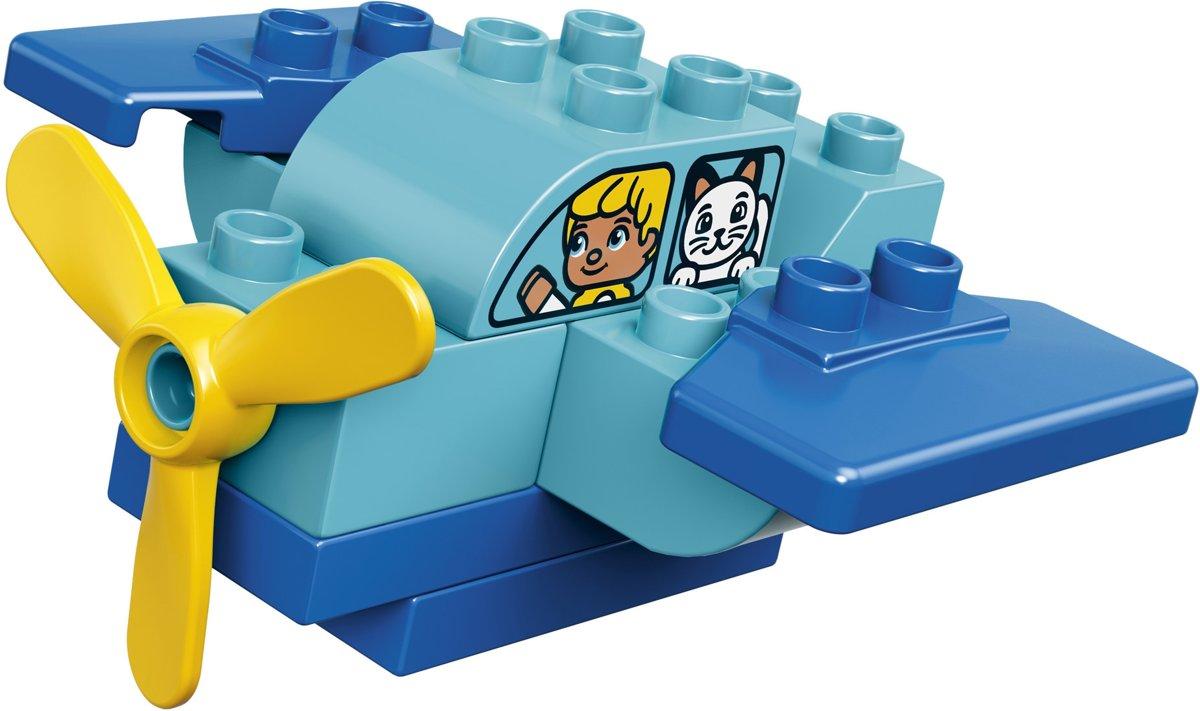Bolcom Lego Duplo Mijn Eerste Vliegtuig 10849 Lego Speelgoed
