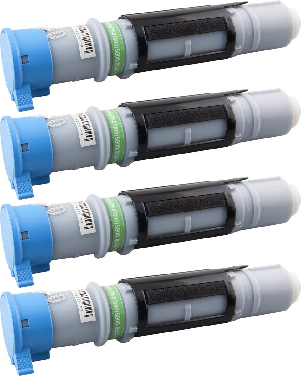 Tito-Express PlatinumSerie PlatinumSerie® 4 x toner XXL zwart compatibel voor Brother TN-8000 10.000 pagina 's MFC-4800 / MFC-4800J / MFC-6800 / MFC-6800J / MFC-9030 / MFC-9070 / MFC-9160 / MFC-9180 / LF-2870 / MLF-2970 / DCP-1000 / Fax-8070P / kopen
