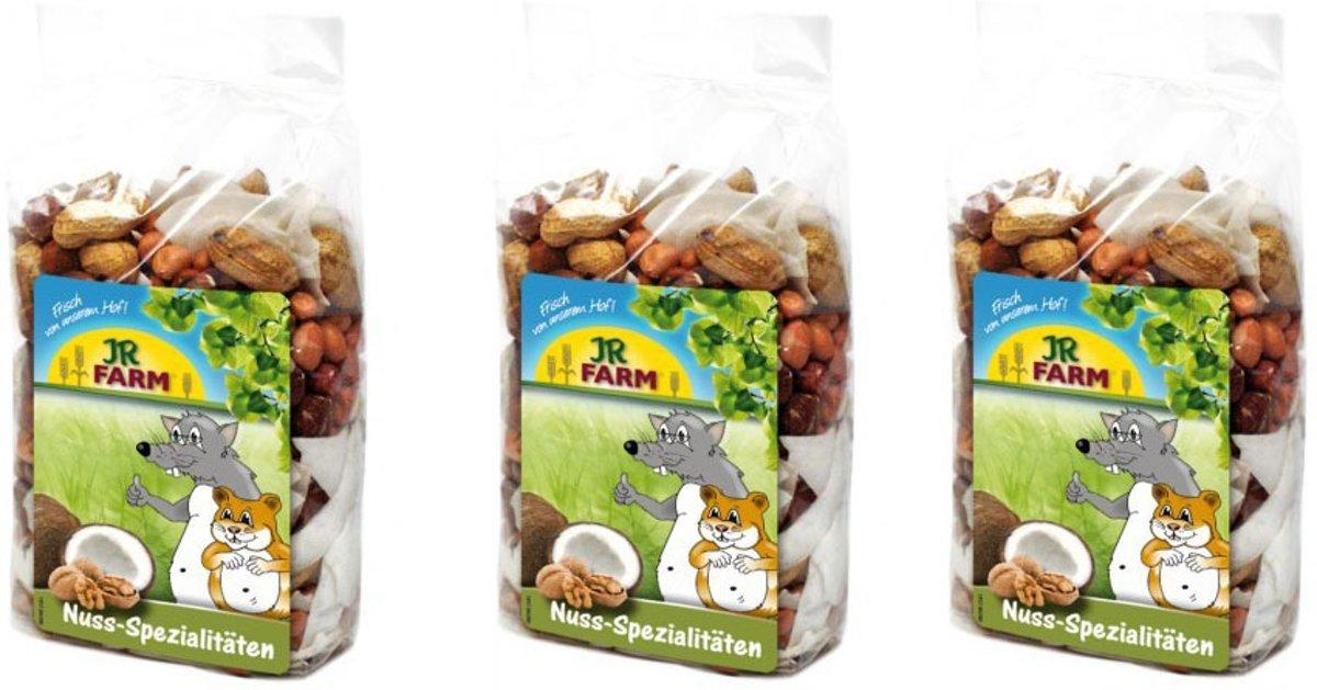 JR Farm - Notentraktatie - 200g - Verpakt per 3 - Knaagdierensnack