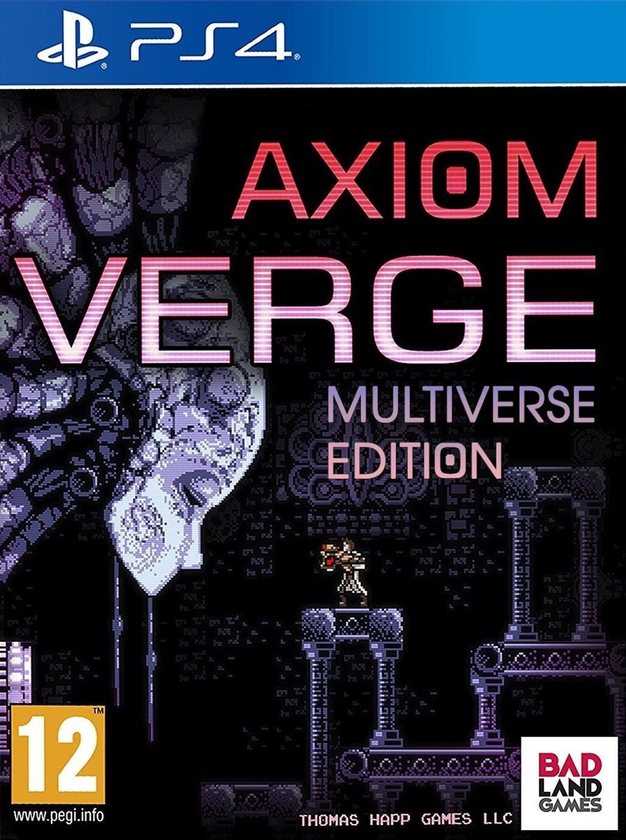 Axiom Verge (Multiverse Edition) PlayStation 4