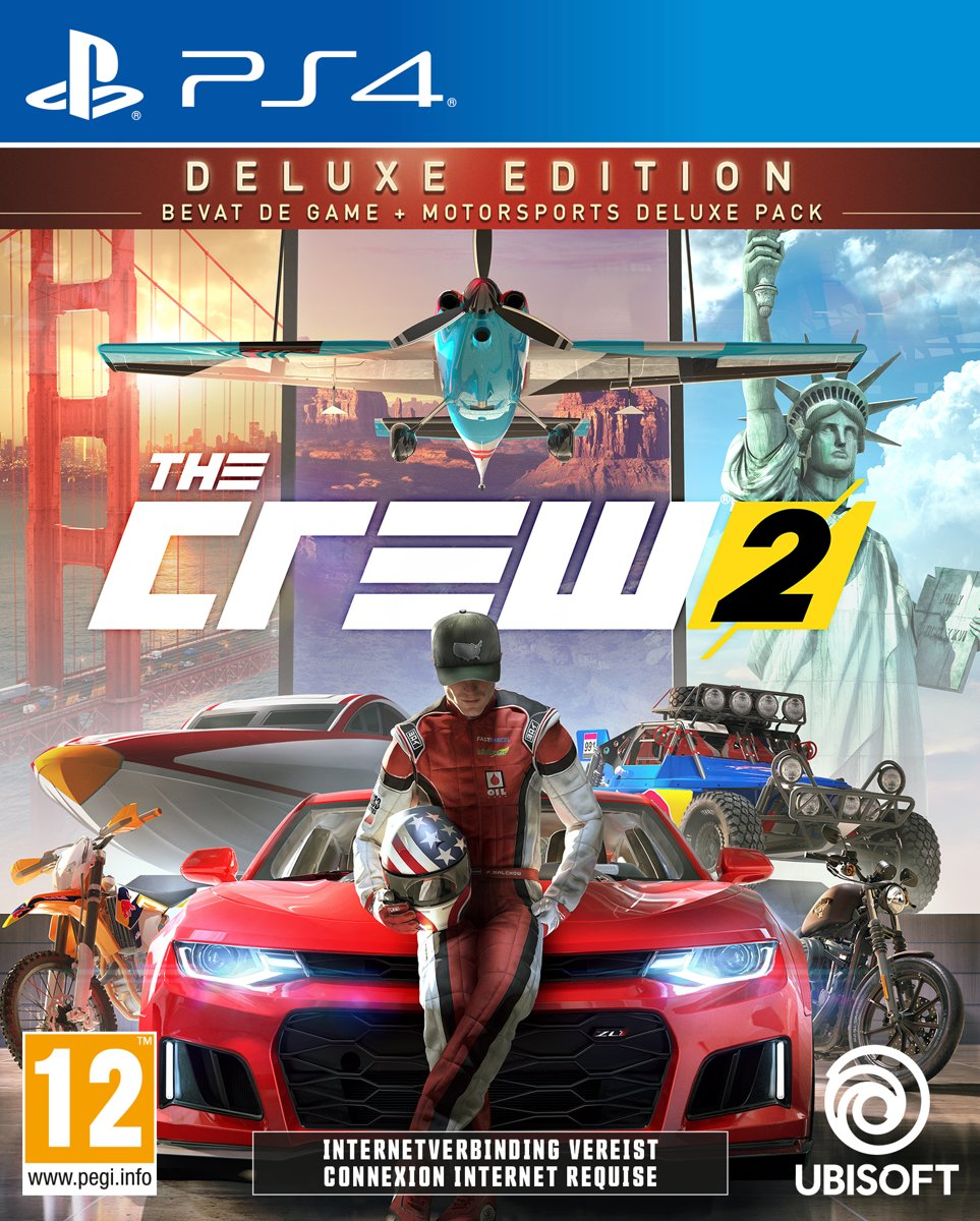 The Crew 2 - Deluxe Editie PlayStation 4