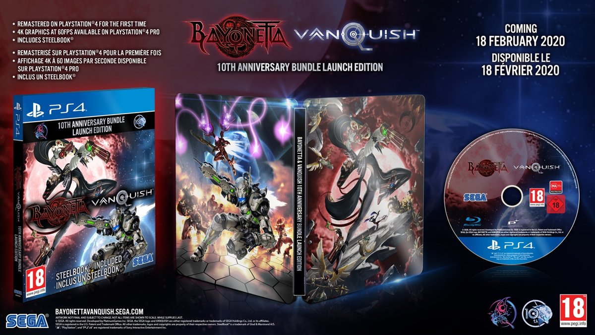 Bayonetta & Vanquish Double Pack - Limited 10th Anniversary Edition kopen